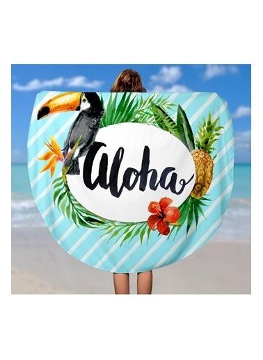 Lyn Home & Decor Papağan Aloha Çok Amaçlı Örtü Renkli